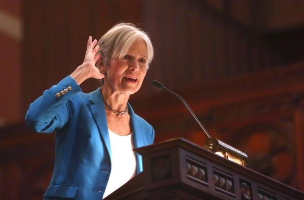 Jill Stein In Boston