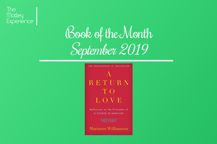 Book of the Month – September2019
