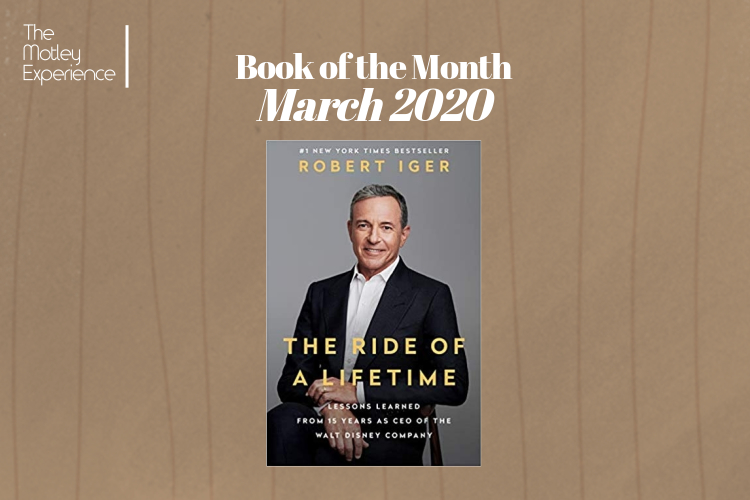 Book of the Month – March,2020